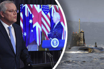 Prime Minister Scott Morrison has signed a historic agreement with the United States and Great Britain.