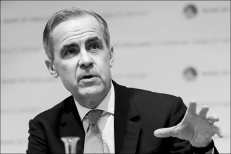Former governor of the Bank of England, Mark Carney.