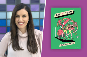 Randa Abdel-Fattah says The F Team sparkles in its details and particularities.