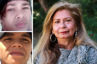 University of Western Australia professor of Indigenous studies Pat Dudgeon says the relationship between police and Indigenous youth is 'not good'. Inset: Master Simpson, top, and Master Drage.