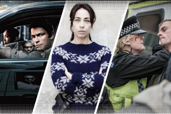 Some of the best shows in the police genre (from left): The Wire, The Killing and Happy Valley.