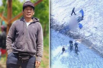 Dinh Lam Nguyen's body was found wrapped in plastic in a wheelie bin dumped in a dam in Perth's east.