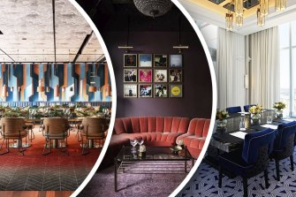Private rooms at Santini Bar + Grill, fleur at The Royal Hotel and Crystal Club at Crown Towers.