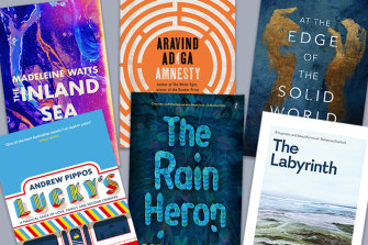 The six books on the 2021 Miles Franklin shortlist.