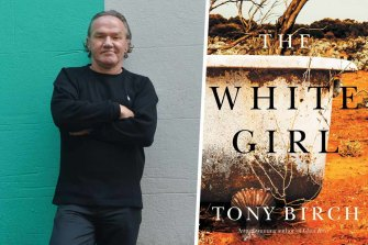 Author Tony Birch and his novel The White Girl.