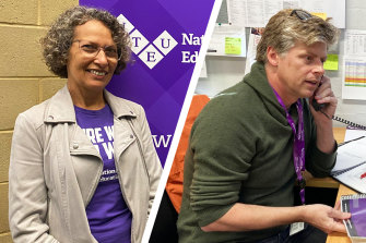 NTEU WA scretary Catherine Moore will have her seat challenged by NTEU's Curtin Uni representative Thor Kerr over differing ideologies for action.