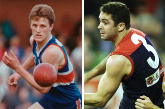 Bulldogs favourite son Chris Grant and Melbourne icon Garry Lyon have been selected as the presenters of this year's premiership cup.