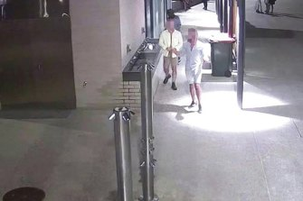 CCTV released by police following the alleged Scarborough sexual assault.