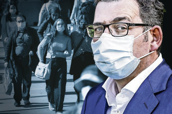 Daniel Andrews ordered Victoria into a snap, five-day lockdown.