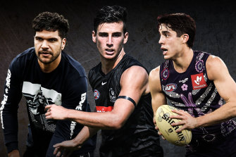 Wantaway Blue Sam Petrevski-Seton, Collingwood father-son draftee Nick Daicos and outgoing Fremantle midfielder Adam Cerra will be names discussed during trade period and the draft this year.