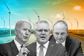 Morrison is wedged between US pressure to boost Australia's ambition on climate and the limited flexibility provided by the Nationals.