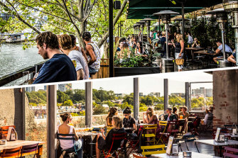 Outdoor dining is set to be a feature of Victoria's summer.