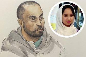 Mohammad Ali Halimi sentenced to life in prison with a minimum term of 19 years for the murder of Ruqia Haidari.