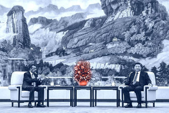 The WHO's Tedros Adhanom and Xi Jinping meet in Beijing on January 28 to discuss the outbreak.