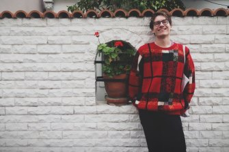 Matthew Knott is not afraid of bold fashion choices