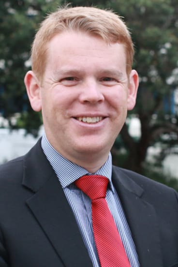 Education Minister Chris Hipkins.