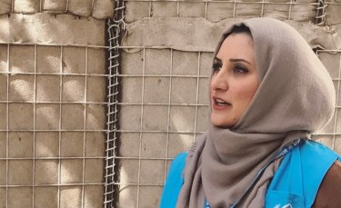 Shabia Mantoo retrained to set herself up for a career in humanitarian work.