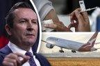 WA Premier Mark McGowan was indignant at news that Qantas might bypass his state.