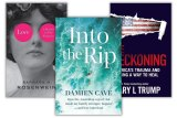 Love: A History in Five Fantasies by Barbara H. Rosenwein; Into the Rip by Damien Cave and The Reckoning by Mary L Trump.