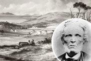 Aboriginal settlement, Flinders Island, Tasmania, 1847.