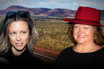 War of the Rineharts: Bianca Rinehart is challenging her mother Gina to Hancock Prospecting's Pilbara assets.