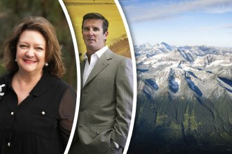 Australian billionaires Gina Rinehart and Tim Roberts have been behind efforts to start new metallurgical coal mines in the Canadian Rocky Mountains.
