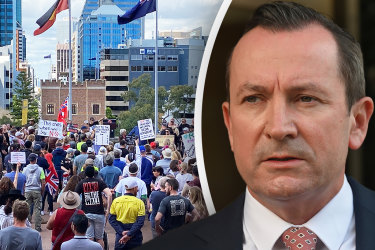 WA Premier Mark McGowan has received death threats after the government mandated COVID-19 vaccines for 75 per cent of the state's workforce.