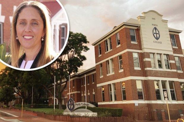 Perth College principal Helen Aguiar.