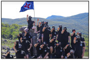 Image from the National Socialist Network from the Grampians camping trip.
