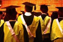 Australian universities face a drop in international student enrolments.