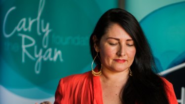 Sonya Ryan's daughter, Carly, was killed by a man she met over the internet.