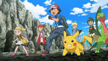 If you have excitable children, Pokemon is better watched on a real TV set than a laptop.