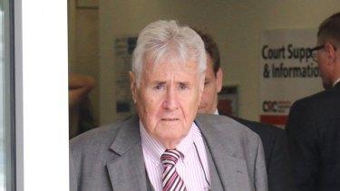 Dr Richard Reid at a Sydney court in October 2019.