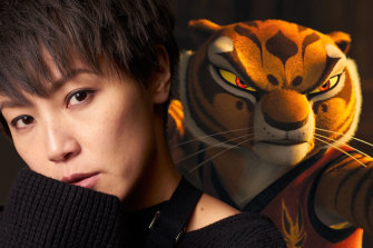 Denise Ho voices Tigress in the Cantonese version of Kung Fu Panda.