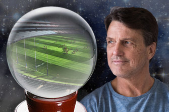 Paul Roos thinks the AFL should look to the past for ideas in the post-coronavirus football world.