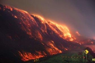 The Hazelwood mine fire burnt for 45 days