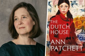 Author Ann Patchett and her novel The Dutch House.