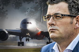 At the heart of Daniel Andrews's plan to build a new quarantine centre lies a hard-headed, political calculation.