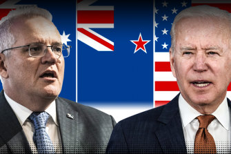 Plans are under way for Scott Morrison to go to the US to meet Joe Biden and commemorate the 70th anniversary of the signing of the ANZUS treaty.