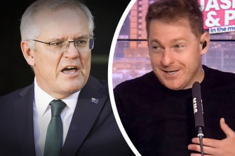 The Prime Minister wouldn't say sorry when pressed by KIIS host Jason Hawkins.