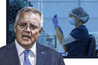 The Morrison government is in negotiations with pharmaceutical companies to be able to make mRNA COVID-19 vaccines in Australia.