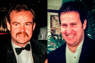 Sergeant Gary Silk and Senior Constable Rodney Miller.