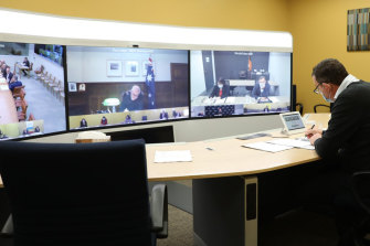 More recently, national cabinet meetings have been held remotely.
