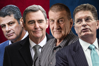 "Former Victorian premiers Steve Bracks, John Brumby, Jeff Kennett and Ted Baillieu say ""kick a Vic"" sentiment must stop."
