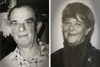 Ronald Swann and Doris McCartney were found dead in their Moorabbin home.