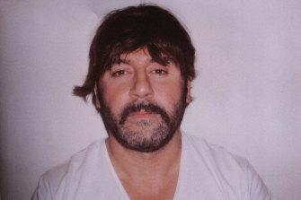 Tony Mokbel when he was caught by police in Greece.