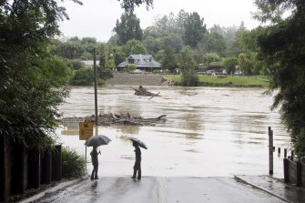 Bellingen endures frequent flooding.