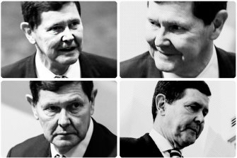 The operation was conducted from Kevin Andrews' office.