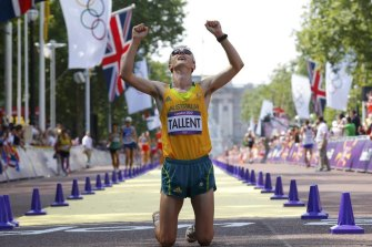 Australia's Jared Tallent at the 2012 Olympics.