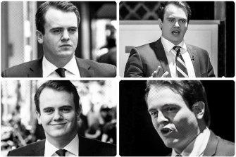 Marcus Bastiaan: Eyes on a Senate seat.